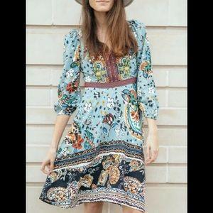 Anthropologie Karmina dress Akemi & Kin sz 10